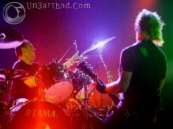James and Lars of Metallica - Photo by: Brian May, UnEarthed Photography